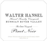 2016 Pinot Noir - Estate Image